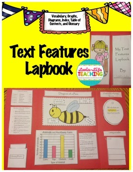 Text Features Lapbook/Foldable
