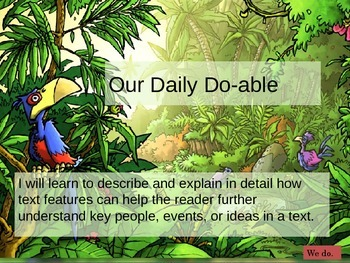 Text Features Lesson