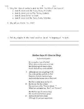 Text Features Literary Text 1
