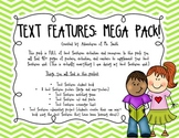 Text Features Mega-Pack (CC Standards 2.RI.5 and 3.RI.5)