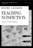 Text Features Micro Lesson