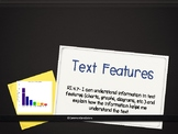 Text Features Packet- RI.4.7- introduce, independent, small group and assess
