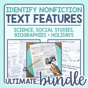 Text Features Passages Bundle