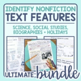 Text Features Identification in Passages: Ultimate Bundle