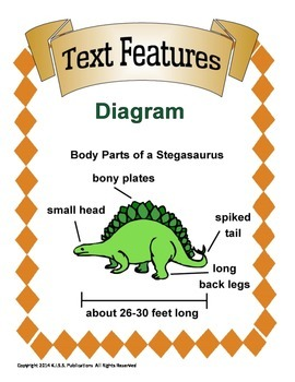 Text Features Poster and Worksheet Set