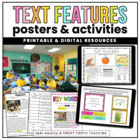 Text Features Posters & Activities