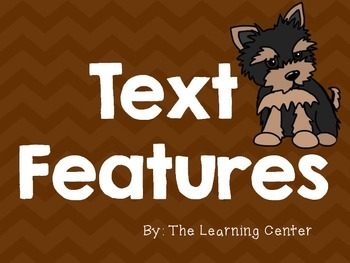 Text Features Posters: Dog Theme