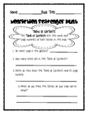Text Features Pre/Post Assessment