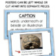 Text Features Posters & Activity