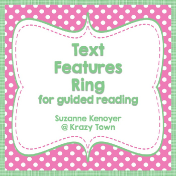 Leveled Text Features
