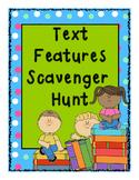Text Features- Scavenger Hunt