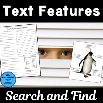 Text Features Word Search