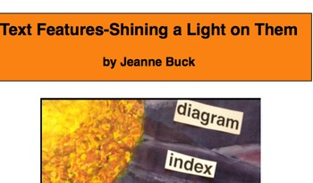 Text Features-Shining a Light on Them