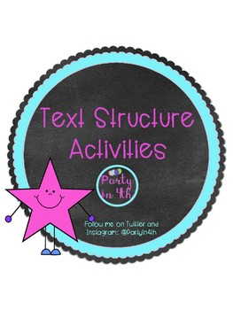 Text Features & Structure Activities