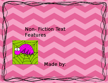 Text Features Student Book