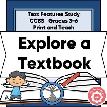 Nonfiction Text Features: Exploring A Textbook