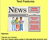 Text Features: To Help Us Understand Our Reading