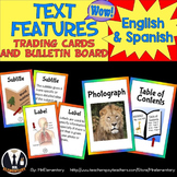 Text Features Trading Cards and Word Wall Posters