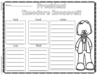 Text Features Using Brochures: Presidents