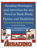 Text Features Vocabulary Cards, Comprehension Posters and Cards and MORE!