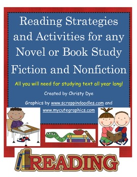 Text Features Vocabulary Cards, Comprehension Posters and