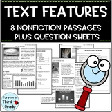 Text Features Worksheets