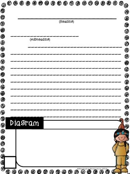 Text Features and Informational Writing Thanksgiving (Project Based Learning)