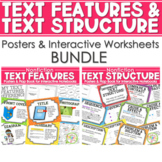 Text Features and Text Structure Posters BUNDLE CCSS ALIGNED