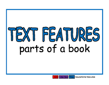Text Features blue