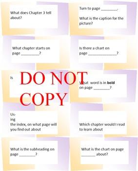 Text Features for Nonfiction Stories