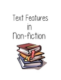 Text Features in Nonfiction Text