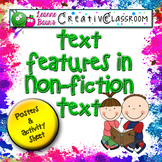 Text Features in Nonfiction Text Poster and Activity