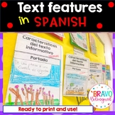 Text Features in Spanish and English