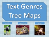 Text Genres Tree Maps