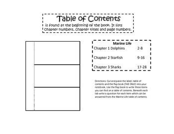 Text Mapping Strategy  INTERACTIVE READING NOTEBOOK (Non-Fiction Grades 3-6)