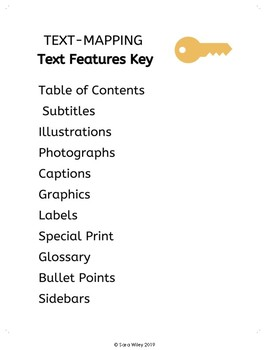 Text-Mapping Text Feature Key