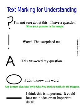 Text Marking