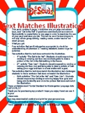 Text Matches Illustration Dr. Seuss Theme
