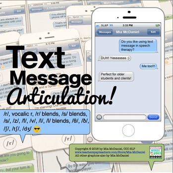 Text Message Articulation!