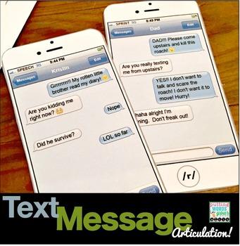 Articulation Text Messages!