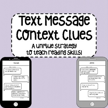Text Message Context Clues