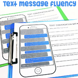 Text Message Fluency Mats