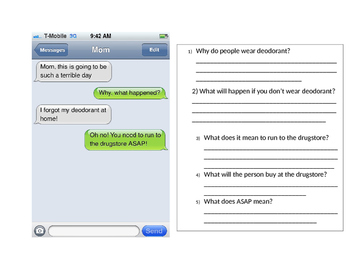 Text Message Social Skills