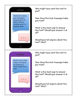 Text Message Workbook for WH Questions, Inferencing, & Social/Pragmatic Language