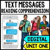 Text Messages - Reading Comprehension - Life Skills - GOOG