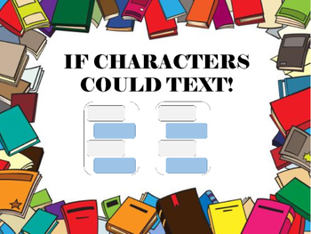 If Characters Could Text