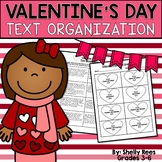 Valentine's Day Reading Text Structure