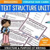 Text Organization Task Cards