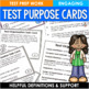 Text Organization Task Cards