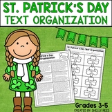 St. Patrick's Day Reading Activity - Text Structure